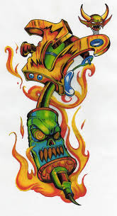 tattoo gun by docdroe on deviantart hunting optics pinterest