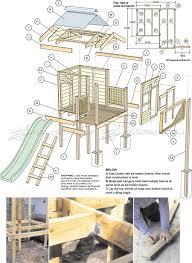 3072 backyard playhouse plans children u0027s outdoor plans