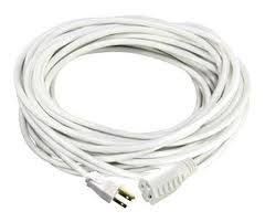 white extension cord extension cord