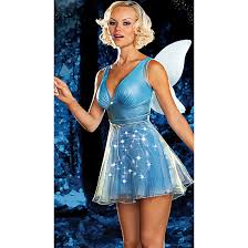 Halloween Costumes Fairy True Blue Fairy Light Costume N4257