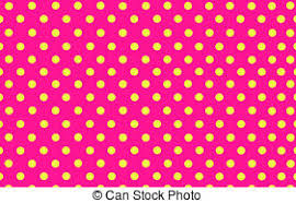 yellow with pink polka dots the deep pink polka dot with white background stock photo search