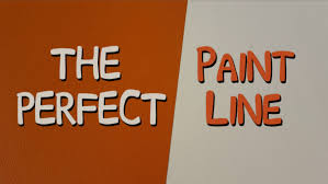 paint a perfect stripe without paint bleed paint clean lines