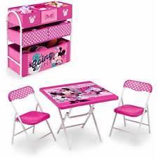 minnie mouse table set disney minnie mouse playroom solution 080213056094 ebay