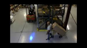 blue warning lights on forklifts forklift blue spot warning light 614 583 5749 youtube
