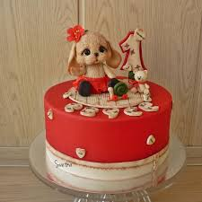 1747 best dog cakes images on pinterest animal cakes dog cakes