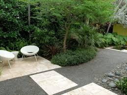 crushed granite patio decorating ideas contemporary landscape
