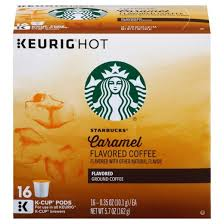 starbucks caramel coffee k cup pods 16ct target