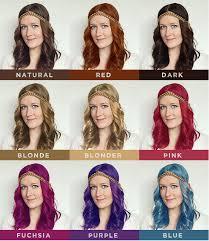 different hair m o o r e a s e a l testing out different hair colors