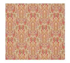 rosalie paisley duvet cover u0026 sham red pottery barn