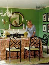 Green Dining Rooms by Bright And Cheery Rooms Inspired By Fall Colors Periwinkle Blue