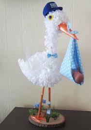 unique baby shower decorations stork centerpiece baby boy stork centerpiece unique baby shower