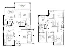 floor plans 2 story homes 5 bedroom floor plans 2 story fantinidesigns