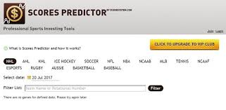 list please predict who the zcode scores predictor perfect sports prediction score tool