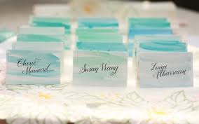 diy place cards diy watercolor placecards weddings do it yourself style and