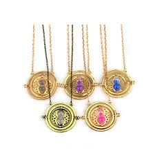 hermione necklace images Hermione granger rotating time turner gold silver necklace jpg
