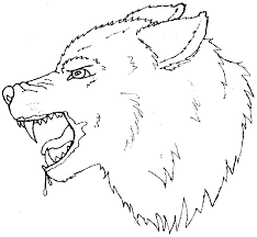 wolf outline free download clip art free clip art on clipart