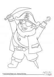 pirate colouring 4