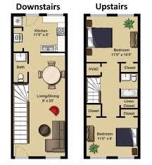 Two Bedroom Floor Plans Bedroom Two Bedroom Townhome Fresh On In Eastover Ridge Apartments