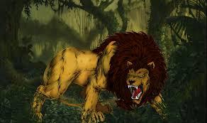 tiger in the jungle by digitalhk on deviantart