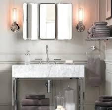 Tri Fold Mirrors Bathroom Trifold Bathroom Mirrors Vanity Mirror Tri Fold Healthfestblog