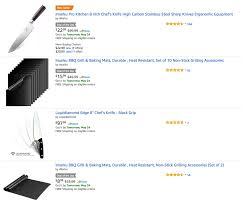 Best Selling Kitchen Knives Amazon Gold Box Best Selling Cooking Knives And Accessories From