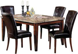 montibello formal 5 piece dining package the brick