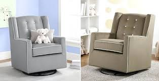 Nursery Glider Rocking Chair Dorel Baby Relax Upholstered Swivel Glider Rocking Chairs For