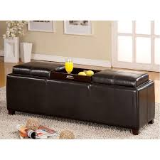 coffee tables furniture ottoman bench tufted storage rustic