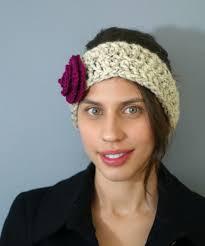 crochet ear warmer headband ear warmer crochet patterns for beginners lw vogue