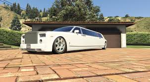 roll royce gta rolls royce phantom limo gta5 mods com