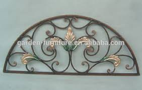 handicrafts home metal wall decor ornamental square modern iron
