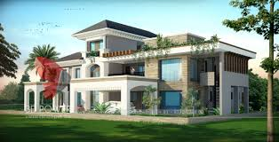 Banglow by 3d Front Elevation Com Pakistan Front Elevation Of House Exterior