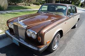 rolls royce silver shadow 1979 rolls royce silver shadow ii tan leather stock 782 for sale
