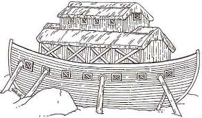 flood coloring pages the animals entering noahs ark before the great flood colouring