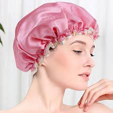 axtry set of 10 multi color plastic shower cap best for home use