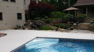 Pool Deck Drain With Removable Tops by Pool Deck Kits Home Depot