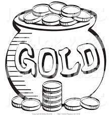st patricks day coloring pages shamrock leprechaun pot of gold