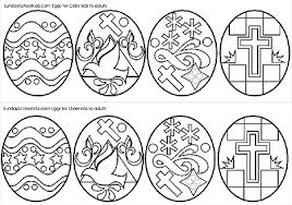 Middle School And Junior High Easter Eggs Coloring Page Challenge Coloring Pages Middle School