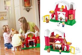 Fisher Price Little People Barn Set Popular Educational Toys For Baby U0026 Toddlers Age 1 To 3