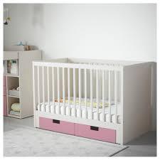White Convertible Crib With Drawer Stuva Crib With Drawers Ikea
