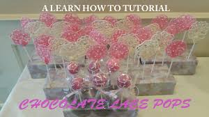 elegant chocolate lace pops learn how to tutorial by rose e cakes