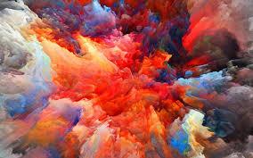 wallpaper 4k color wallpaper for desktop laptop vq21 color explosion red paint pattern