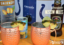 pineapple moscow mule the farmwife drinks