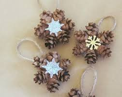 pinecone ornament crafts find craft ideas