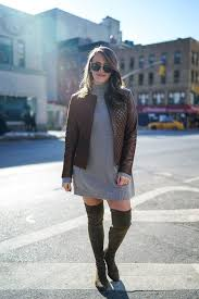 sweater dress and grey sweater dress popular york city fashion and travel