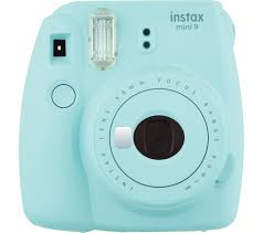 buy instax mini 9 instant camera ice blue free delivery currys