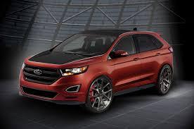 Ford Explorer All Black - ford previews explorer edge concepts for sema
