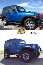 compare jeep wranglers before and after comparison of a 2003 jeep wrangler we added a 3