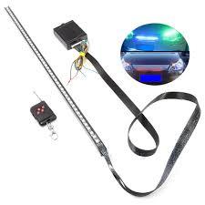 car led light strip rgb 7 color 5050 smd 48 led scanning knight rider car lights strip