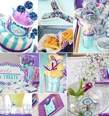 purple baby shower themes purple and aqua carnival baby shower ideas future